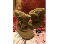 Next baby girl boots size 4