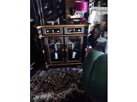 Oriental mother of pearl pillow cabinet forsale
