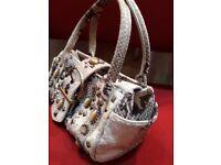 Karen millen leather handbag