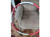 Anion Weighted Massage Activity Exercise hoop