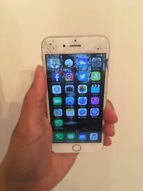 iPhone 6 16gb in Silver - 3