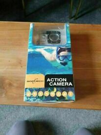 Softech Full Hd1080p Waterproof Action Camera NEW CONDITION
