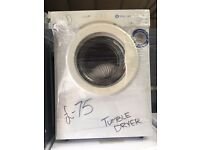 WHITE KNIGHT free standing combi tumble dryer 3 kg in good condition & perfect working order