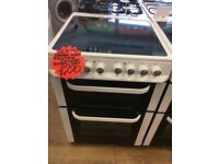 SERVIS 60CM BRAND NEW CEROMIC TOP ELECTRIC COOKER IN WHITE