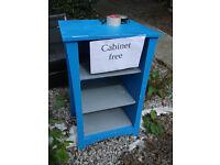 Free blue cabinet