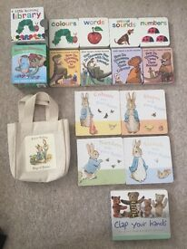 13 Baby books includingPeter rabbit