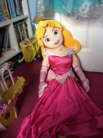 Large sleeping beauty doll