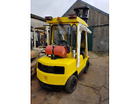 Hyster 3 Ton Gas Forklift Truck Sideshift and Full Cab