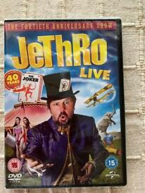Jethro live dvd. New