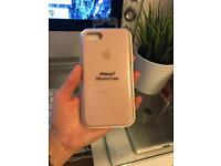 Silicone case Apple store for iPhone7 pink sand
