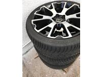 """22""""range rover sport wheels and tyres"""