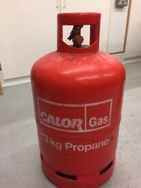Calor Gas Bottle 13kg Part full.