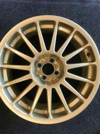 1 fiat 7x17 Alloy Wheel for sale only got one £86 call 07860431401