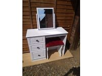 Dressing Table and Chair (IKEA)