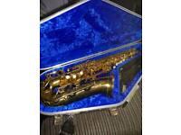 Yamaha Yas-275 Alto Saxophone, Vandoren, Selmer and Jupiter Mouthpieces and Hiscox case