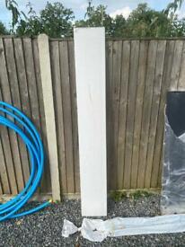 White fascia board 1700x250mm