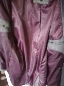 Mens winter Jasper Conran coat, unworn never been used, it has double lining on coat.