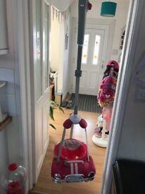 Kiddicare pink door bouncer