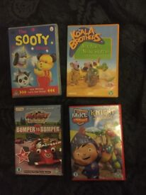 Selection of kids dvds