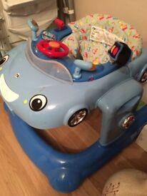 Mothercare 3 in 1 car walker - Blue
