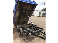 Tipping trailer 8' x 5'