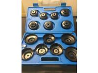 Oil filter wrench kit 15piece