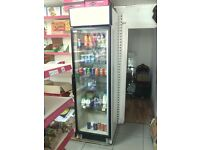 Drink cooler display fridge