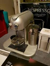 NESPRESSO GRAN MAESTRIA MAGIMIX MACHINE WITH AEROCCINO BOXED