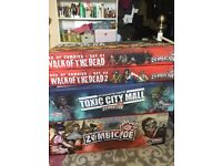 Zombicide Board game, plus toxic city expansion and two boxes of extra zombies.