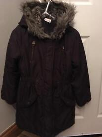 Girls 9 years John Lewis fitted Parker
