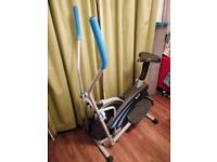 2in1 cross trainer and bike