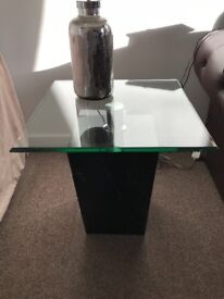 DFS marbel & glass coffee table