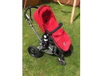 Bugaboo chameleon in Red with lots of extras
