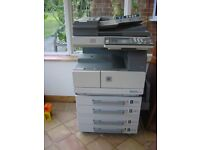 Minolta DI210 copier with ADF, owned from new.