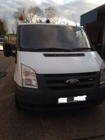 Ex Company Transit Van Low millage (Full Service History) VAT paid