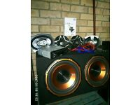 "Subwoofer 600W RMS 1800W PEAK EDGE TWIN 12"" ACTIVE ENCLOSURE WITH BUILT IN ED72300 AMPLIFIER"