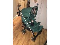Green Hauck stroller Pram pushchair