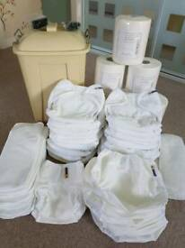 Reusable nappies (never used). Half retail price.