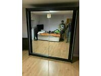 💥💯HUGE 50% OFF NEW 2 AND 3 DOORS SLIDING WARDROBES WITH FULL MIRRORS, SHELVES, RAILS