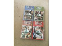 "VHS videos tapes ""Fawlty Towers"" full series x 4 Ex Con"