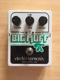 Electro Harmonix BIGG MUFF with Tone Wicker