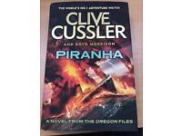 Clive Cussler Piranha Book