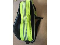 Adidas badminton racquets sports bag