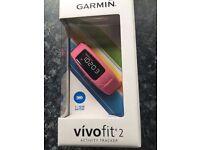 Brand new boxed Vivofit 2 Garmin fitness watch (£45!!!)