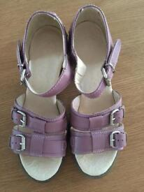Ladies Clarks, Dr Martens, etc. Shoes, size 6, see individual prices