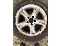 "Genuine 16"" Mercedes alloy wheel"