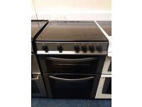 £180 Grey Logik 60cm Ceramic Top Cooker - 12 Months Warranty