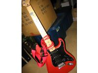Stratocaster type electric guitar by Westfield