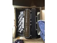 1960's Ranco Antonio Button key accordion. Well looked after.