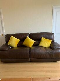 FREE *. 3 seater Recliner